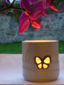 In Memory 'Tealight Holders' designed by O'Riain Pottery